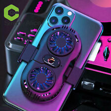 Cooling Fan Mobile Phone Radiator Game Cooler For iPhone Samsung B2SA