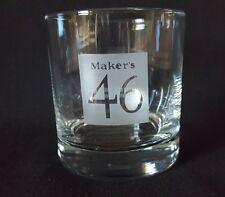 MAKERS MARK 46 ROCKS GLASS Maker's Mark 46 Whiskey Glass!! Brand New!!!