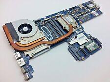 HP Compaq EliteBook 8540w 8540p Series Motherboard + Heatsink + Fan 595765-001 8