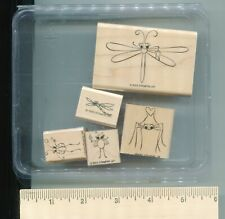 Stampin' Up! CUTE AS A BUG Wood Mounted