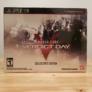 Armored Core: Verdict Day Collector's Edition 24/250 (Sony PlayStation 3, 2013)