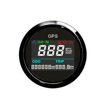 52mm Electronic GPS Speedometer w/ Unique High Definition and Contrast Ratio LCD