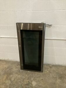 Glass Door ( Knock) For LG Refrigerator Black Stainless Steel LMXC23796D/00