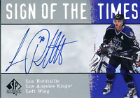 Luc Robitaille Autographed 2001 Upper Deck Card