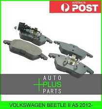 Fits VOLKSWAGEN BEETLE II A5 2012- - Pad Kit, Disc Brake, Front