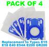 ELECTROLUX Z5935 Z5942 ZAM6107 ZE2220 ZE2233 Vacuum Cleaner Bags - Pack of 5