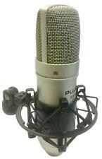 Pulso scm100 Studio Micrófono de condensador de diafragma grande de cardoid Micrófono De Grabación
