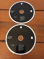 2005 LiveType Media CDs 1 & 2 1.0 Mac Macintosh Software Discs