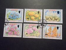 GB Jersey 2002 Commemorative Stamps~Battle of Flowers ~Very Fine Used Set~UK