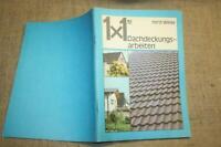 Fachbuch Dachdecker, Ziegel, Schieferdach, Dachklempner, Dachbau, DDR 1985