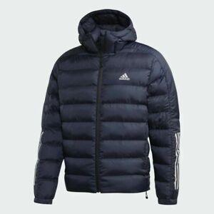 Adidas Itavic 3 Stripe 2.0 Puffer Jacket Men's Size Small DZ1412