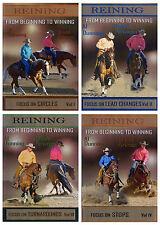 DVD Al Dunning - BEGINNING To WINNING REINING Horse Western Training