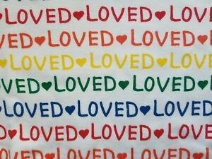 NWT HANNA ANDERSSON LOVED RAINBOW UNISEX SHORT JOHN PAJAMAS 160 14