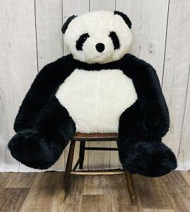"Melissa & Doug 36"" Panda Bear Jumbo Stuffed Animal Plush Giant Soft Black White"