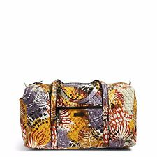 VERA BRADLEY  Large Duffel Travel Bag in Painted Feathers-NWT