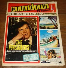 COUNTDOWN COMIC 50 JAN 1972 DR WHO UFO PERSUADERS THUNDERBIRDS GERRY ANDERSON