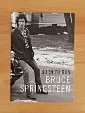 Bruce Springsteen promotional postcard