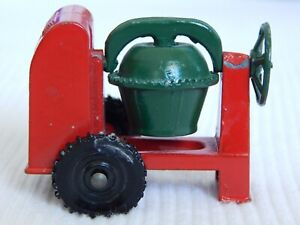 "CEMENT MIXER Vintage Antique Diecast Metal, 1.75""L 42mm, Matchbox? Moko Lesney?"