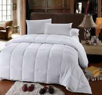 King Size Down Alternative Comforter 300 Thread Count 60 Oz - Duvet Insert