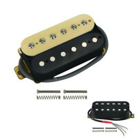 Double Coil Humbucker Electric Guitar Neck Pickup Ceramic Magnet 4 Wires 50mm