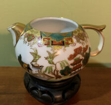 Vintage Hand-painted Cherry Exclusive Chuba China Cherry Co Japan Tea Pot 2�T