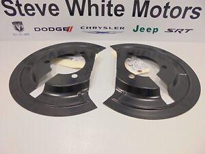 02-18 Dodge Ram 1500 New Brake Dust Splash Shield Left & Right Side Mopar Oem