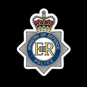 ministry of defence police Mod Plod Army  Car Sticker Locker Badge 80mm Vinyl
