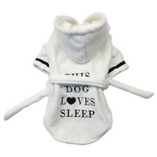 Fast Dry Pet Bathrobe Pajamas Quick Drying Absorbent Night Gown Bath Robe