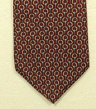 """BROOKS BROTHERS MAKERS silk tie made in the USA width 3.75"""""""