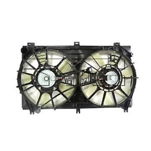 For 2014-2016 Lexus IS250 Dual Radiator and Condenser Fan