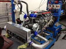 CX Aluminum Front Mount Intercooler Piping BOV Kit For 93-02 Camaro LS1 LT1 Blue