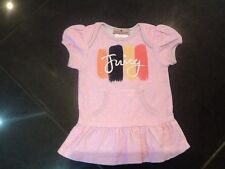 Juicy Couture New & Gen. Baby Girls Pink Towelling Dress Age 6/12 MTHS With Logo