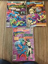 superman action comics lot