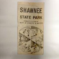 1960s Shawnee State Park Vintage Travel Brochure Schellsburg Pennsylvania PA