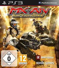 SONY PS3 MX vs. ATV Supercross PlayStation3 Offroad Super Moto Cross ohne Beschr