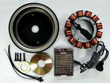 FOR HARLEY SOFTAILS EVO S&S MOTOR ALTERNATOR 32 AMP CHARGING KIT CHROME CHOPPER