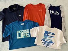 columbia hulk aftco boys shirts small