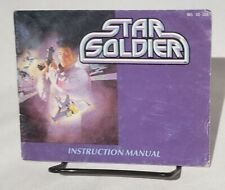 Star Soldier Instructions Manual Only Nintendo NES