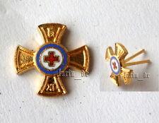 Deutsches Bayerisches Rotes Kreuz Abzeichen German red cross badge pin