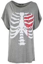 Damenblusen, - tops & -shirts mit Rundhals-Ausschnitt Lagenlook Größe 48