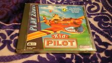 KID PILOT FLIGHT SIM SIMULATOR SIMULATION FOR KIDS PLAY ZONE PC CD ROM