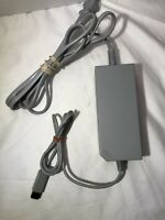 OEM Nintendo Wii Original Power Supply AC Adapter Cord Cable RVL-002- tested!