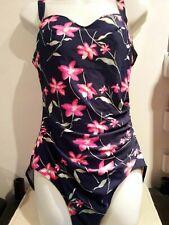 Scuba. Navy Blue Floral swimsuit 💜  Size 18