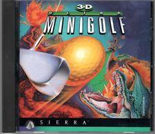 3-D ULTRA MINIGOLF by SIERRA PC Game CD-ROM