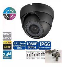 16 pcs HD-CVI 1080P  2.4MP Motorized Zoom Auto Focus 2.8-12 VF Dome Camera Gray