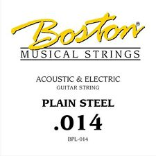 Boston BPL-014 corda singola per chitarra acustica ed elettrica 014