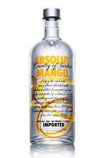Absolut MANDARIN ORANGE or MANGO VODKA 1 Litre Brand New Absolute ly SEALED!