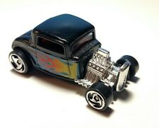 Vintage 32 FORD COUPE 1998 HOT WHEELS FIRST EDITIONS SERIES BLACK RAZOR WHEELS