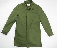 Gant Rugger Mens Green The Boat Coat Cotton Blend S Small $275 SOLD OUT