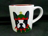 "Magenta Pattern M2G19 Dog Terrier Elf Mug 14oz 3 1/2"" x 3 1/2"" Mint Unused w1s1"